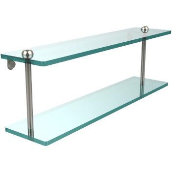 22'' Shelves with Polished Nickel Hardware