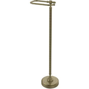 Allied Brass TS-25ED-ABZ European Style Toilet Tissue Stand Antique Bronze