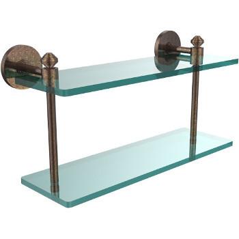 16'' Shelf with Venetian Bronze Hardware