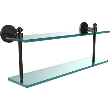 22'' Shelf with Oil Rubbed Bronze Hardware