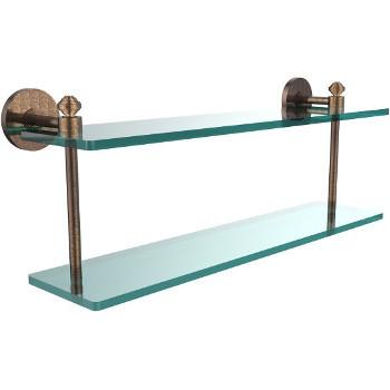 22'' Shelf with Venetian Bronze Hardware