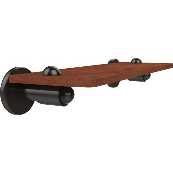 16'' Shelf with Oil Rubbed Bronze Hardware