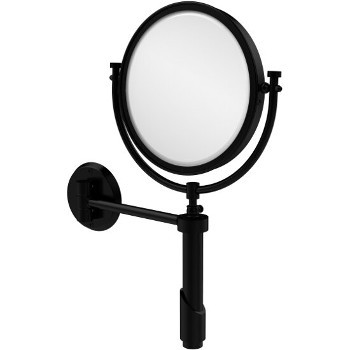 2x Magnification, Matte Black Mirror