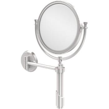 2x Magnification, Satin Chrome Mirror
