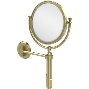 3x Magnification, Satin Brass Mirror