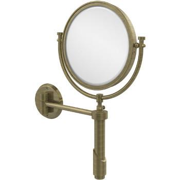 4x Magnification, Antique Brass Mirror