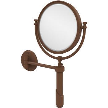 4x Magnification, Antique Bronze Mirror