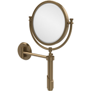 4x Magnification, Brushed Bronze Mirror