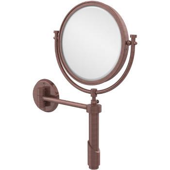 4x Magnification, Antique Copper Mirror