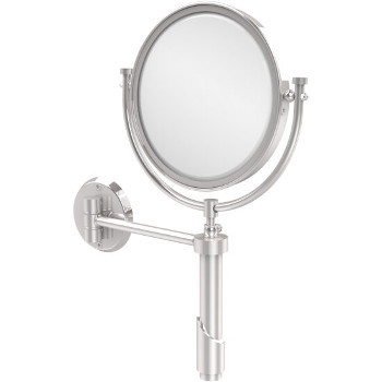 4x Magnification, Polished Chrome Mirror