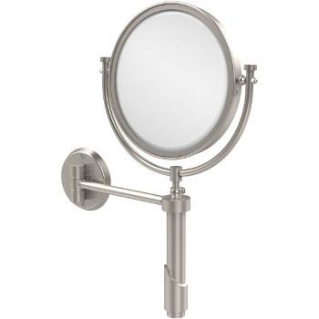 4x Magnification, Satin Nickel Mirror