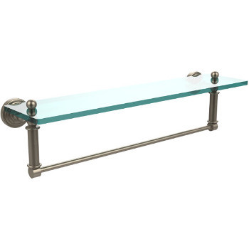 22'' Shelves with Pewter and Towel Bar Hardware
