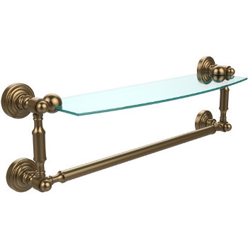 18'' Brushed Bronze with Towel Bar