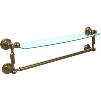 24'' Brushed Bronze with Towel Bar