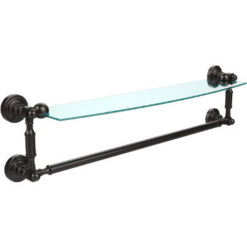 24'' Oil Rubbed Bronze with Towel Bar