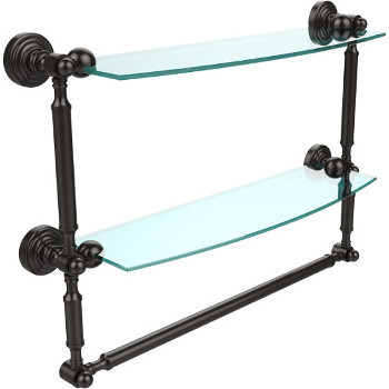 18'' Oil Rubbed Bronze with Towel Bar