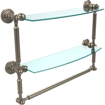 18'' Pewter with Towel Bar