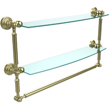 24'' Satin Brass with Towel Bar