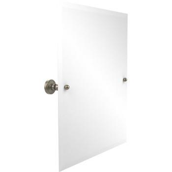 """Allied Brass Rectangular Tilt Mirror, Waverly Place, 21""""W x 26""""H, Premium, Antique Pewter"""
