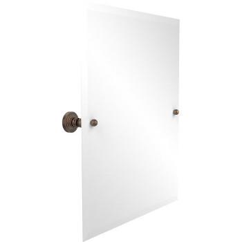 "Allied Brass Rectangular Tilt Mirror, Waverly Place, 21""W x 26""H, Premium, Venetian Bronze"