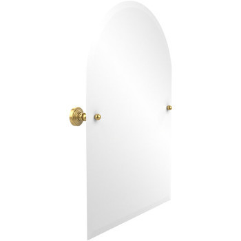 """Allied Brass Waverly Place Arched Top Mirror, 21"""" x 26"""", Standard Finish"""