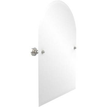 """Allied Brass Waverly Place Arched Top Mirror, 21"""" x 26"""", Premium Finish"""