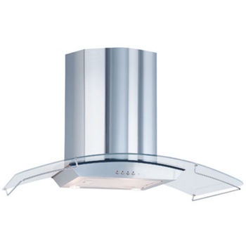 Airking Aragon Wall Mounted Glass and Stainless Steel Range Hood