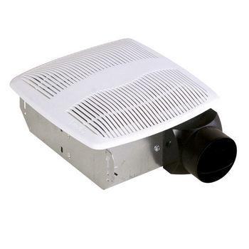 Air King AS Series Bathroom Exhaust Fan  50 CFM  3 0 Sones  10 W x 9 1 2 D  x 3 3 4 H. Bathroom Exhaust Fans by Air King   KitchenSource com