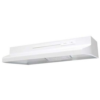 Air King AV Series Under Cabinet Mount Advantage Economy Range Hood, White