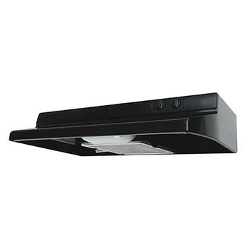 Airking Quiet Zone Under Cabinet Mount Range Hood, Black