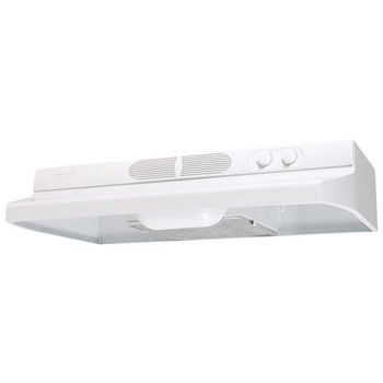 Airking Quiet Zone Under Cabinet Mount Range Hood, White