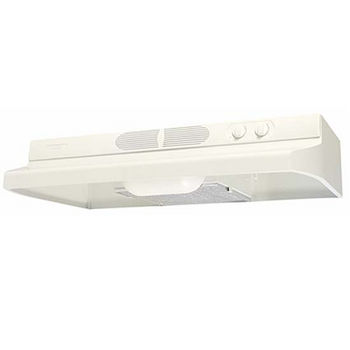 Airking Quiet Zone Under Cabinet Mount Range Hood, Biscuit