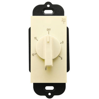Air King Heater 15 Minute Timer Switch, Almond Finish