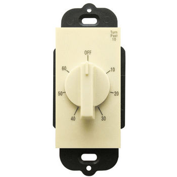 Air King Rotary 60 Minute Delay Timer Switch, Almond