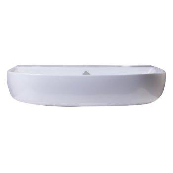 """28"""" White D-Bowl Bath Sink View - 3"""