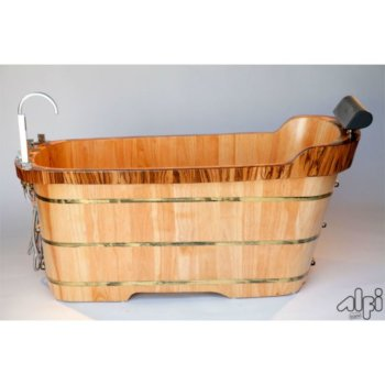 Wooden Bathtub Product View