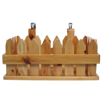 Wooden Hanging Basket