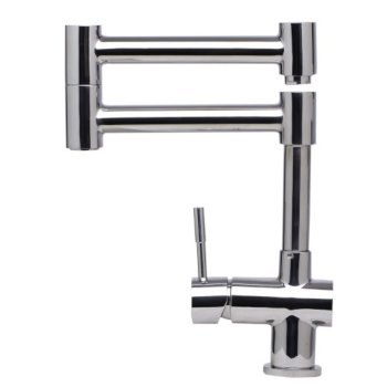 Polished S/Steel Retractable Faucet