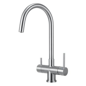 "Alfi brand Brushed Stainless Steel Kitchen Faucet/Drinking Water, 1"" W x 1"" D x 16"" H"