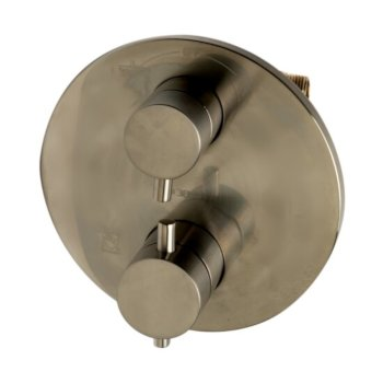Brushed Nickel Double Handle View