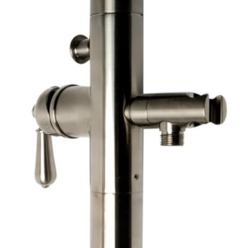 Brushed Nickel Handle Close Up View