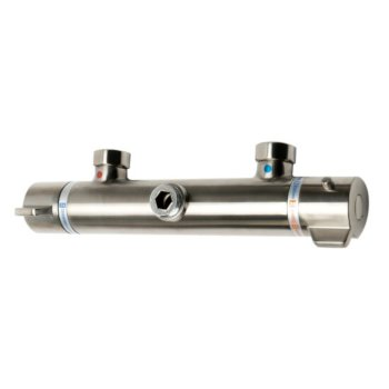 Brushed Nickel Water Diverter View