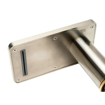 Brushed Nickel Spout View