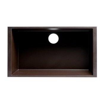 "30"" Chocolate Overhead View"