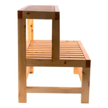 Superb 20 Wide Double Wooden Stepping Stool Multi Purpose Creativecarmelina Interior Chair Design Creativecarmelinacom
