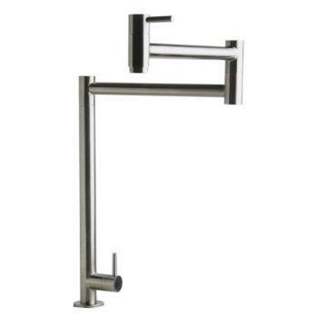 Brushed S/Steel Retractable Pot Filler Faucet
