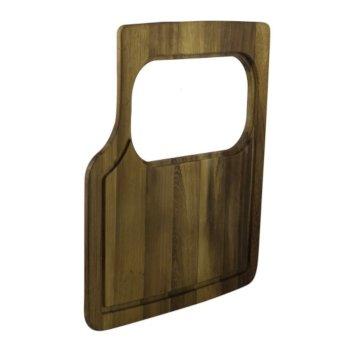 Rectangular Wood Cutting Board w/ Hole
