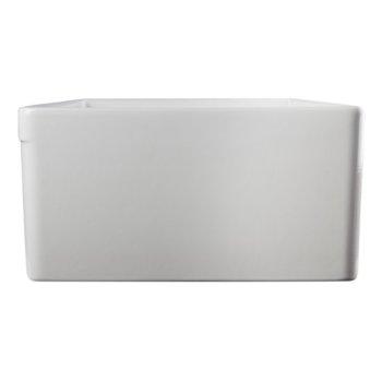 "30"" White Decorative Lip Apron Product View - 2"