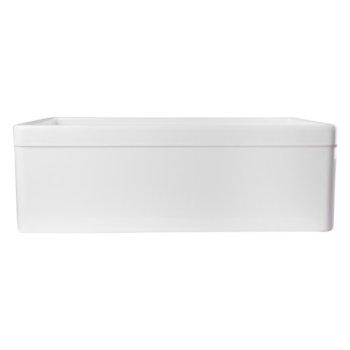"30"" White Decorative Lip Apron Product View - 4"