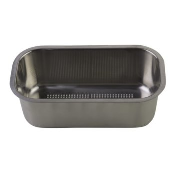 """Alfi brand Stainless Steel Colander Insert for AB50WCB, 12-1/2"""" W x 6-1/2"""" D x 4-1/4"""" H"""